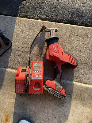 Milwaukee social come with battery and charger for Sale in Pickerington, OH