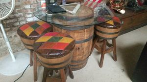 Vintage Barrel table for Sale in Chicago, IL