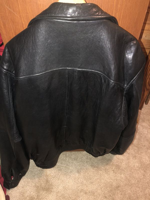 Real Aeropostale leather jacket from the late 80s