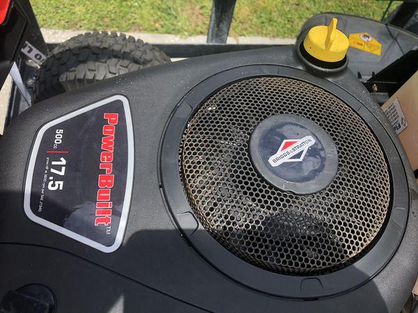 Riding lawn mower Troy Bilt 2017 RIDING LAWNMOWER