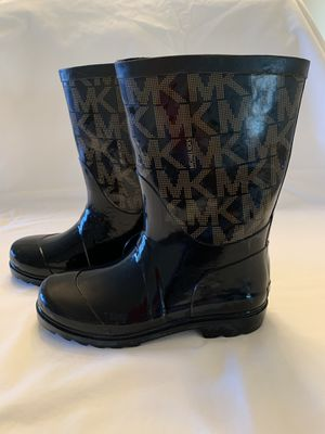 Michael Kors rain boots women's size 3 for Sale in Auburn, WA