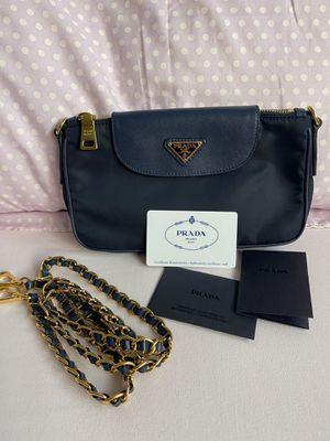 Prada Tessuto Saffiano Crossbody Bag **AUTHENTIC** for Sale in San Jose, CA