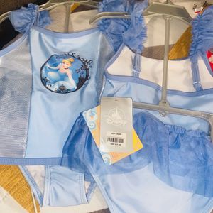 Baiting Suits From Disney Land Store Original Girls for Sale in Lawndale, CA