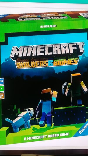 The All New Minecraft Builders Biomes Ravensburger Board Game For Kids 10 & up for Sale in Palm Bay, FL