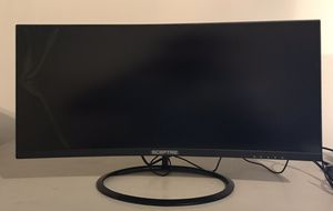 Computer Gaming Monitor Sceptre 30in (Damaged) for Sale in Freeville, NY