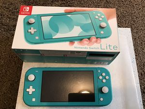 Nintendo switch lite with game for Sale in Arvada, CO