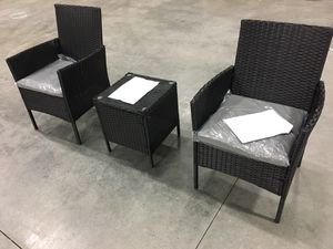 Patiomore 3 Pieces Outdoor Bistro Set for Sale in Peachtree Corners, GA