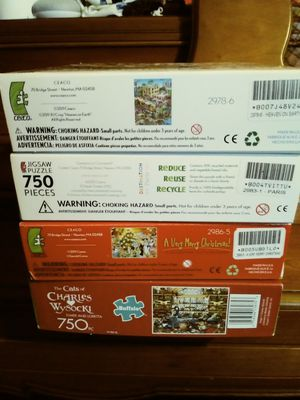 4 Puzzles for Sale in Lake Worth, FL