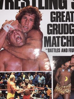 Wrestling's Greatest Grudge Matches Book for Sale in Blacklick,  OH