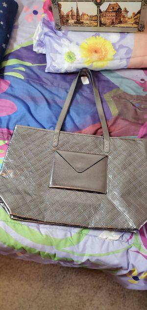 Pretty silver tote bag for Sale in Shelton, WA