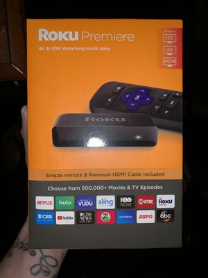 ROKU PREMIERE REMOTE & HDMI CABLE BRAND NEW UNOPENED * for Sale in Oceanside, CA