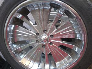 22 inch wheels chevy tahoe for Sale in Stockton, CA