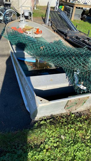 Aluminum boat and motors etc make offers for Sale in Warminster, PA