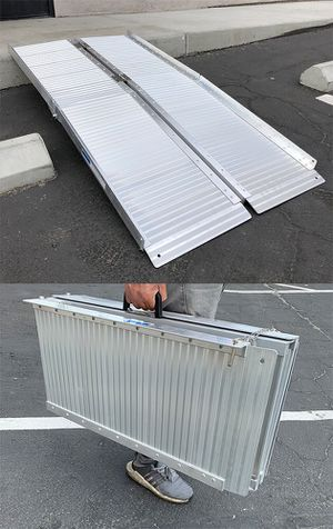 """New $115 Aluminum 5' ft Portable Multifold Wheelchair Scooter Mobility Ramp (60""""x28"""") for Sale in El Monte, CA"""