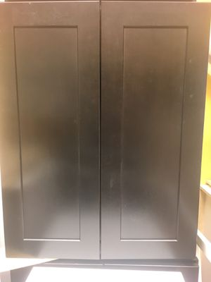 Espresso wall cabinets for Sale in Longwood, FL