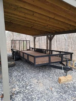 6.10 x 20ft utility trailer for Sale in Acworth, GA