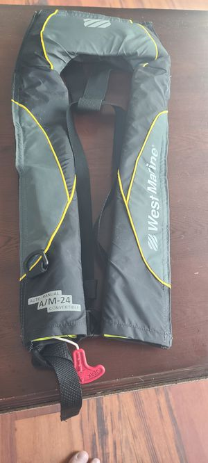 Automatic life vest jackets, four available for Sale in Charlotte, NC