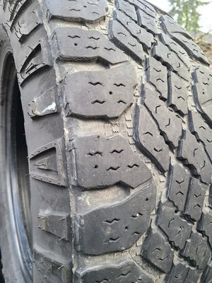 275/65 R18 Goodyear Wrangler Duratrac tires for Sale in Renton, WA