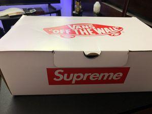 Supreme vans (Gaultier) for Sale in Fremont, CA