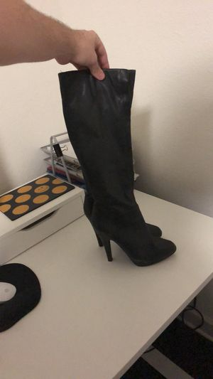 Black Aldo Boots. Like new. size 39. for Sale in Phoenix, AZ