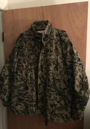 OG bape camouflage M-65 jacket for Sale in Norfolk, VA