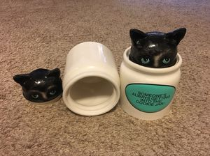 """Two 9"""" tall cookie jars for Sale in Frederick, MD"""