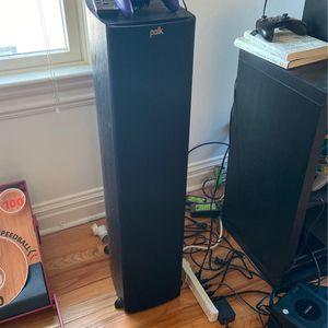 Polk Tower Speakers (2) for Sale in Morristown, NJ