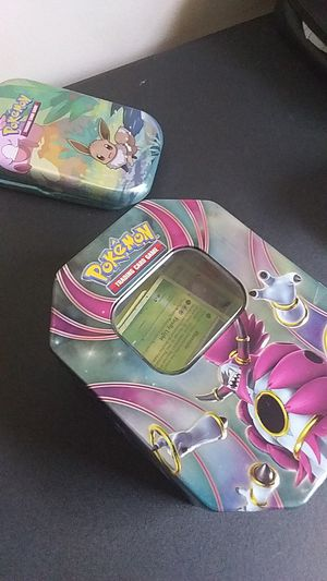Pokemon cards(100+)(Energy+pokemon+carrying cases+GX and EX) for Sale in Saint Charles, MD
