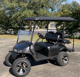 Lifted EZGO Golf cart. New Batteries, Totally Refurbished for Sale in Winter Park,  FL