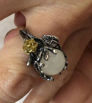 Surgical stainless steel with beautiful moonstone gem for Sale in Sun City West, AZ