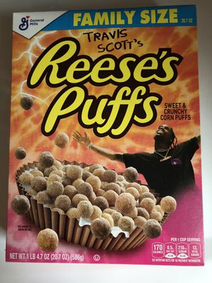 OPEN TO NEGOTIATIONS Travis Scott Reese's Puffs for Sale in Arlington, VA