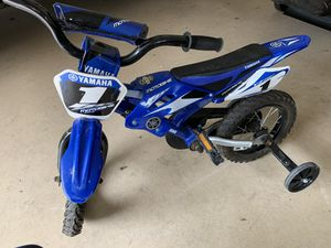 Kids starter bike Yamaha 1 style for Sale in Franklin, TN