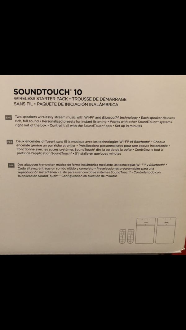 Bose soundtouch 10 pair brand new in box