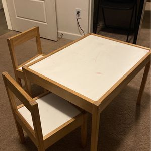 IKEA Kids Table With 2 Chairs for Sale in Corona, CA
