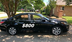 $8OO I'm seling URGENTLY my family car 2OO9 Honda Accord Sedan Super cute and clean in and out. for Sale in Arlington, VA