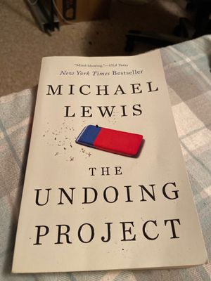 The Undoing Project by Michael Lewis for Sale in Los Angeles, CA