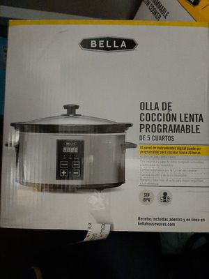 NEW Bella Programable slow cooker for Sale in Washington, DC