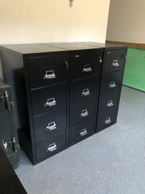 Fire King File Cabinets for Sale in Duvall, WA