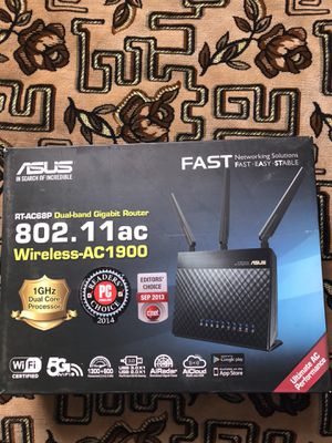 Two Asus Wireless Router for Sale in Schaumburg, IL