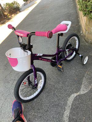 Kids Bike with training wheels - Trek Precaliber 16 for Sale in Millbrae, CA