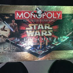 STARWARS EPISODE 1 Monopoly Collector Edition Game Board for Sale in Hillsboro,  OR