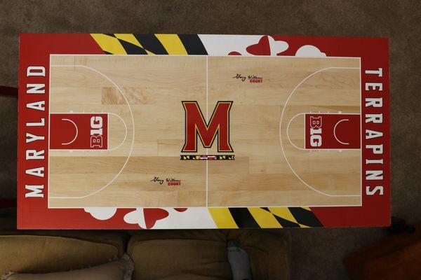 Maryland Basketball Table