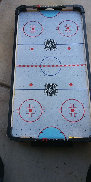NHL air hockey mini for kids for Sale in Tucson, AZ
