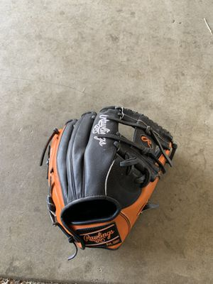 Black and Orange Rawlings Heart of The Hide for Sale in Roseville, CA