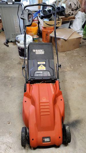 Electric Lawn Mower Black & Decker for Sale in Cumming, GA