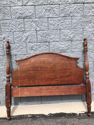 Vintage wooden bedframe for Sale in Salt Lake City, UT