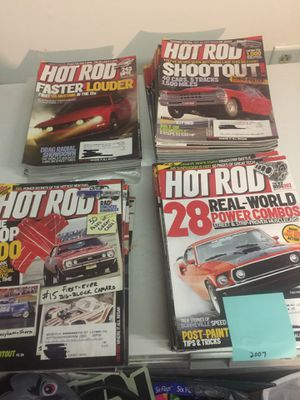 Car magazines hot rod for Sale in Imperial, MO