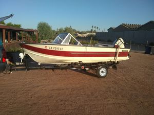 StarCraft 16ft Aluminum boat for Sale in Apache Junction, AZ