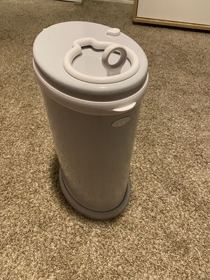 Ubbi gray steel diaper pail for Sale in Burleson, TX