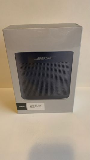 Bose SoundLink Color Series II Bluetooth Portable Speaker for Sale in Vancouver, WA